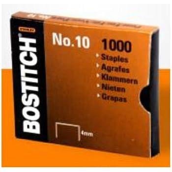 Bostitch NO 10 1M Heftklammern für HP10 Größe 9 x 4 mm Menge
