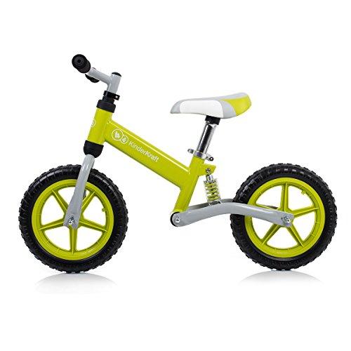 KinderKraft - Bicicleta sin Pedales para niños de 2 años (KKRWEVOGRE0000)