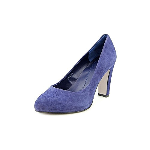 Tahari Dolly Daim Talons Regal Blue