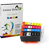 4 X Colour Direct Ink Cartridges Replacement For HP 364XL - Photosmart 5510, 5511, 5512, 5514, 5515, 5520, 5522, 5524, 6510, 6512, 6515, 6520, 7515, B010a, B109a, B109d, B109f, B109n, B110a, B110c, B110e, HP Photosmart Plus B209a, B209c, B210a, B210c, B210d, HP Deskjet 3070A, 3520, 3522, 3524, Officejet 4610, 4620 High capacity