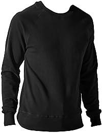 Nakedshirt - Sudadera de algodón para hombre