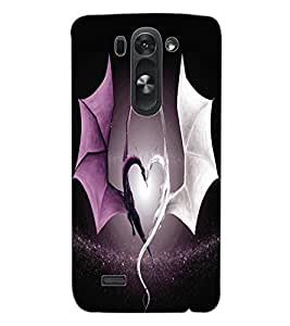 ColourCraft Beautiful Dragon Heart Design Back Case Cover for LG G3 S