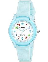 Caviot Kids Series Analog White Dial Unisex Watch - CK005