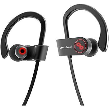 3129eaadb7f CrossBeats Raga Wireless Bluetooth Earphones with Microphone IPX-4  Sweatproof Sports Design with Carry Case