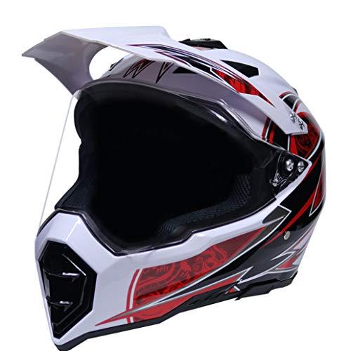 ross Helme Anti Fog UV Schutz Off Road Extreme Motorrad Helme Anti Collision Anti Fall Racing Motorrad Schutzkappen 23 Optional ()