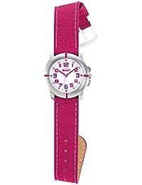 Scout Mädchen-Armbanduhr Analog Quarz Silikon 280390021