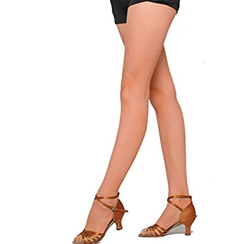 Nanxson(TM) Collant Bas Résille Maille Sexy Pour Femmes WZWL0007 (caramel C)