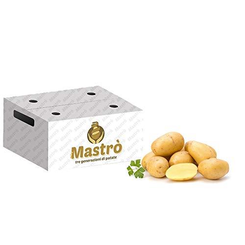 iMastrò Patate Di Pasta Gialla In Sacchi Da 10 Kg Fresche Box Da Cucinare Sacco Made In Italy Patatine Fritte Taglio Chips (10 kg)