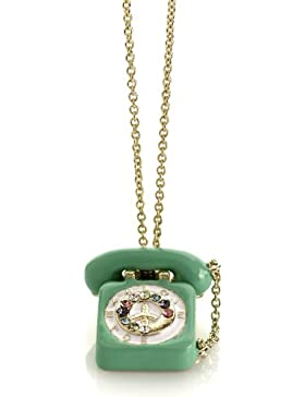 Me & Zena Halskette DREAM PHONE gold-green