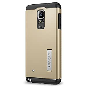 Spigen Coque Galaxy Note 4 Slim Armor Champagne Gold SGP11126