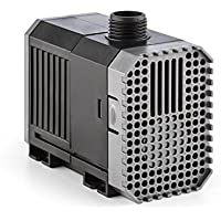 Waldbeck Nemesis • T25 Teichpumpe • sparsam • 25 Watt Leistungsaufnahme • max. 1.8 m Förderhöhe • Schutzklasse IPX8 mit Schutzkontaktstecke • 1500L/h Durchsatz • 10 m Kabel • ca. 521 Gramm • schwarz