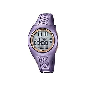 Calypso–Reloj Digital Unisex con Pantalla LCD y Extensible de