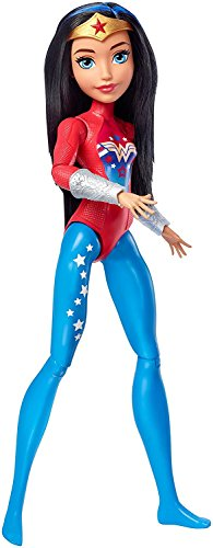 Mattel FJG63 DC Super Hero Girls Sportlerin Wonder Woman (Wonder Woman Kids Outfit)