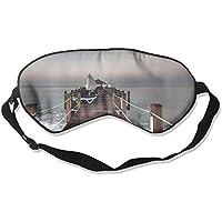 Amazing Wood Bridge Seaside 99% Eyeshade Blinders Sleeping Eye Patch Eye Mask Blindfold For Travel Insomnia Meditation preisvergleich bei billige-tabletten.eu