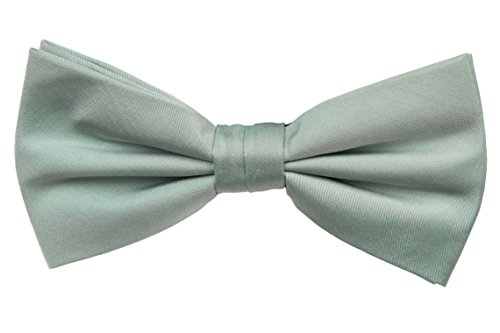 Notch Gebundene Fliege aus Seide für Herren - Blaugrüne Jade