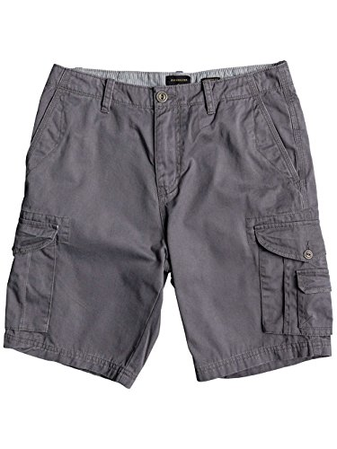 Quiksilver Crucial Battle Short Homme, Quiet Shade, FR : L (Taille Fabricant : 38)