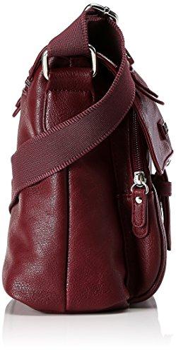 Tom Tailor 18303-48 Damen Überschlagtasche Rot (Wine)