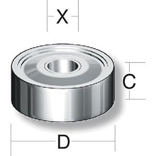 Axcaliber Router Cutter Bearing - D=12.7 - X=6.35mm