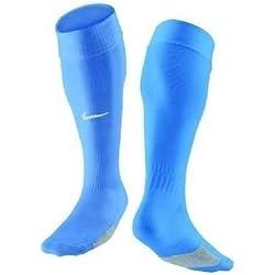 NIKE - Calcetines de fútbol para hombre, color azul (university blue/white), talla M