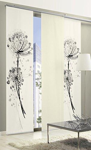 Startex limbo 265 - tenda a pannello con stampa digitale, tessuto effetto seta, 60 x 260 cm