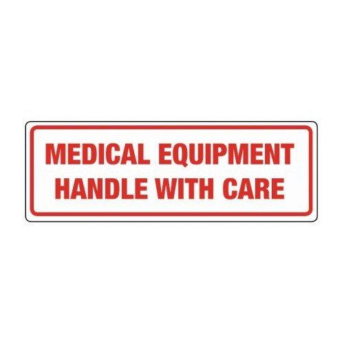 swiftpak 424etiqueta 'equipos médicos manejar con cuidado, 148mm L x 50mm w (50Unidades)