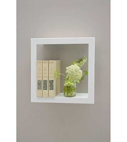 PRESSE CITRON - Cadre carré étagère presse citron bigstick blanc acier laqué mat