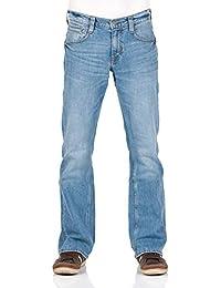 Mustang Herren Jeans Oregon - Bootcut - Blau - Light Blue - Mid Blue - Dark 2a52272219