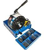 Pressa mobile per tubo idraulico HMSP-P16HP, incl. Ganasce a pressione
