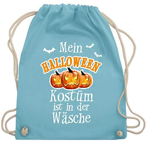 Halloween - Mein Halloween Kostüm ist in der Wäsche - Unisize - Hellblau - WM110 - Turnbeutel & Gym Bag