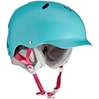 Women'Bern Damen Helm Lenox dünne Schale Winter Boa Einsatz, Satin, Farbe Schwarz, Größe XS/s