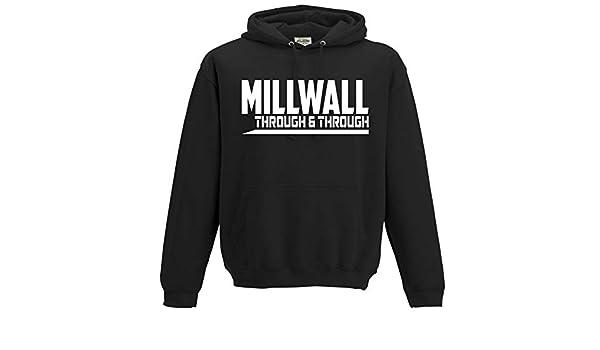 Millwall Home of Fooball Premium Mens Hoodie