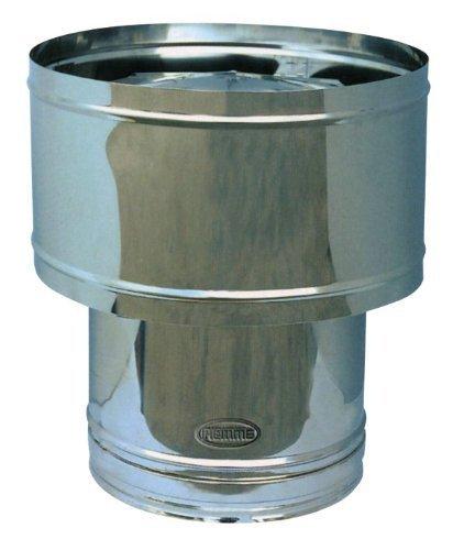 BARRIL CHIMENEA DE TUBO DE LA ESTUFA DE ACERO INOXIDABLE PIEMME ART 30 SPEEDY Ø 200 MM
