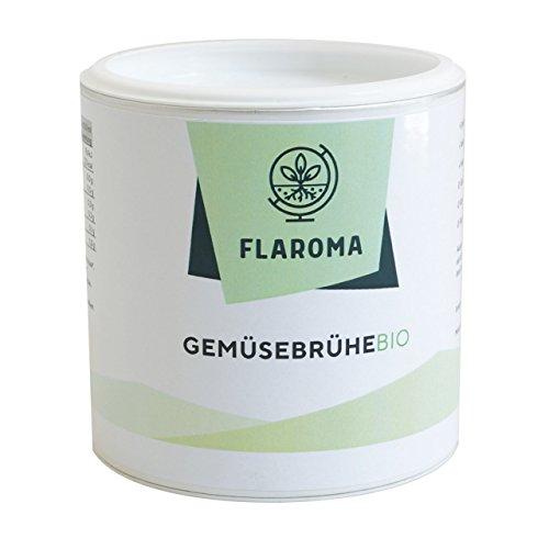Gemüsebrühe BIO Flaroma 500g - 25L, BIO Brühe mit 40{cbc2386d1c0ba0404715e28fea3f642051c37c739c29b274b8ab99ecb358307f} Gemüseanteil, ohne Geschmacksverstärker, frei von Zusatzstoffen