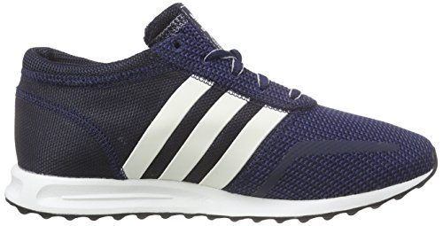 Adidas Los Angeles - Baskets Basses Athlétiques Unisexes - Bleu Adulte (blau (collegiate Navy / Off White / Granite))