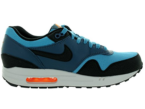 Nike  Air Max 1 Essential, Chaussures de Running Compétition homme Multicolore - Azul / Negro / Gris (Strts Bl / Blk-Sqdrn Bl-Wlf Gry)