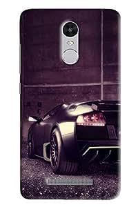 Meraki Silicone Soft Printed Back Cover For Redmi Note 3