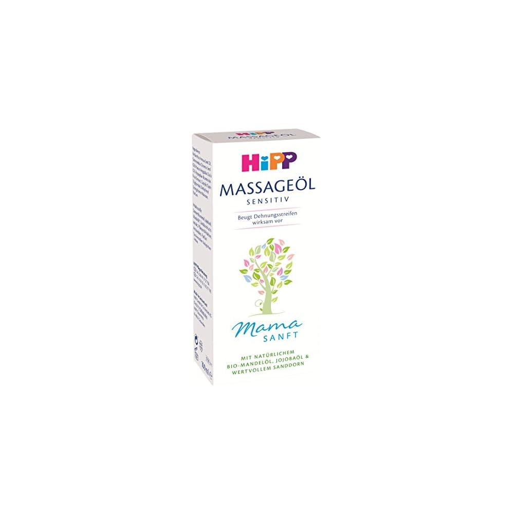 Hipp Mamasanft Massage L 2er Pack 2 X 100 Ml