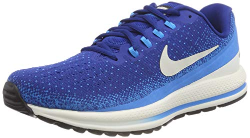 Nike Air Zoom Vomero 13 Scarpe Running Uomo, Multicolore (Gym Light Bone/Blue Hero/Sail 401), 42 EU