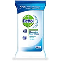 Dettol Antibacterial Surface Cleanser Floor Wipes (Pack of Three)