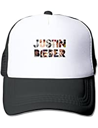 Cool Justin Bieber Adult Baseball Leisure Caps Hat Adjustable One Size By JE9WZ Black