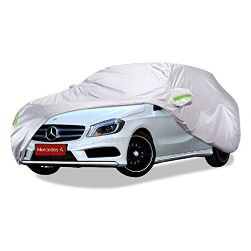 SXET-Cubierta de coche Cubierta para automóvil Protección UV Mercedes-Benz Serie A Especial Tela de Oxford Cubierta para automóvil Cubierta de polvo impermeable a prueba de rayones resistente al rayad