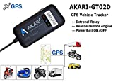 AKARI GPS Tracker (with Mobile App) - Device for Car,Bike,Truck and Bus