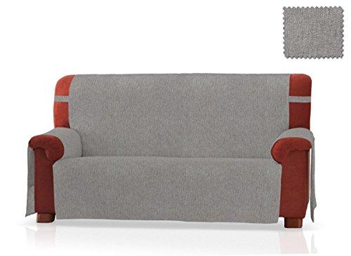 JM Textil Copridivano Pharma Dimensione 3 Piazze (160 Cm.), Colore Grigio