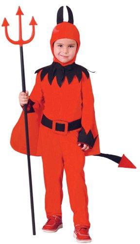 ra Kinder von 4 - 6 Jahre alt (Disfraz Demonio Halloween)