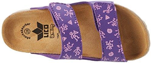 Lico Apachi, Chaussures de Randonnée Basses Fille Violet (Lila/Pink)