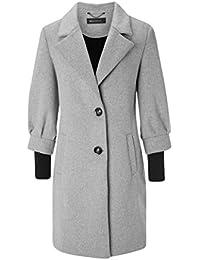 644ffd16930c Suchergebnis auf Amazon.de für  trenchcoat damen grau - Wolle ...