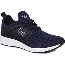 Scarpe EA7 Emporio Armani 7 EA Uomo X8X005 Sneakers Basse Blu Nero Lacci  Sport. di Emporio Armani. EUR 159 99fc3604a8c