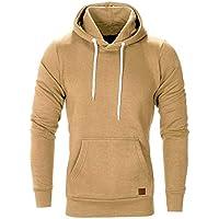 Geili Herren Basic Hoodie Kapuzenpullover Sweatjacke Pullover Oversized Einfarbige Mit Kapuze Tasche Sweatshirt... preisvergleich bei billige-tabletten.eu
