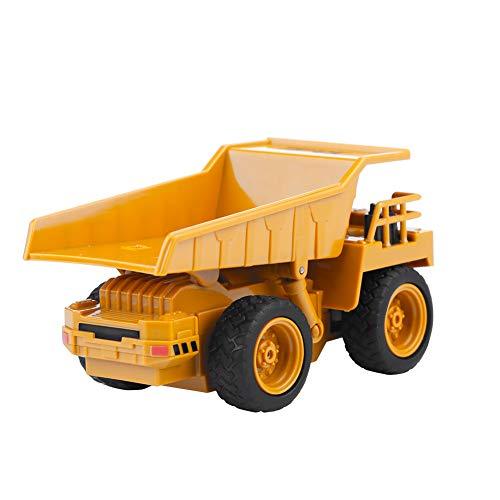 RC Auto kaufen Baufahrzeug Bild 5: Alomejor RC Bauwagen, Mini DIY Baufahrzeug RC Bagger Truck Bagger Kits Baustein Spielzeug(Kipper)*