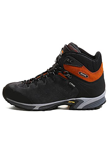 MEINDL Herren Wanderschuhe Anthrazit/Orange